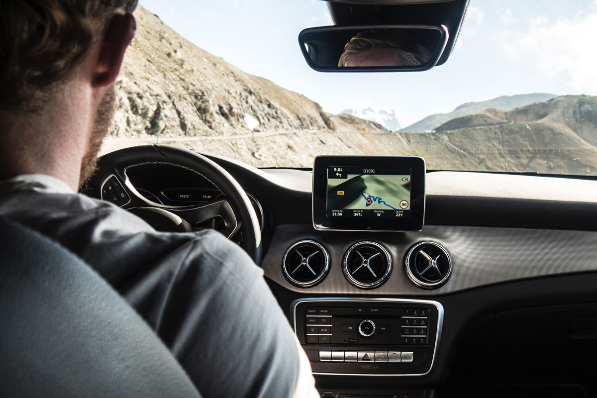 in-car-navigation