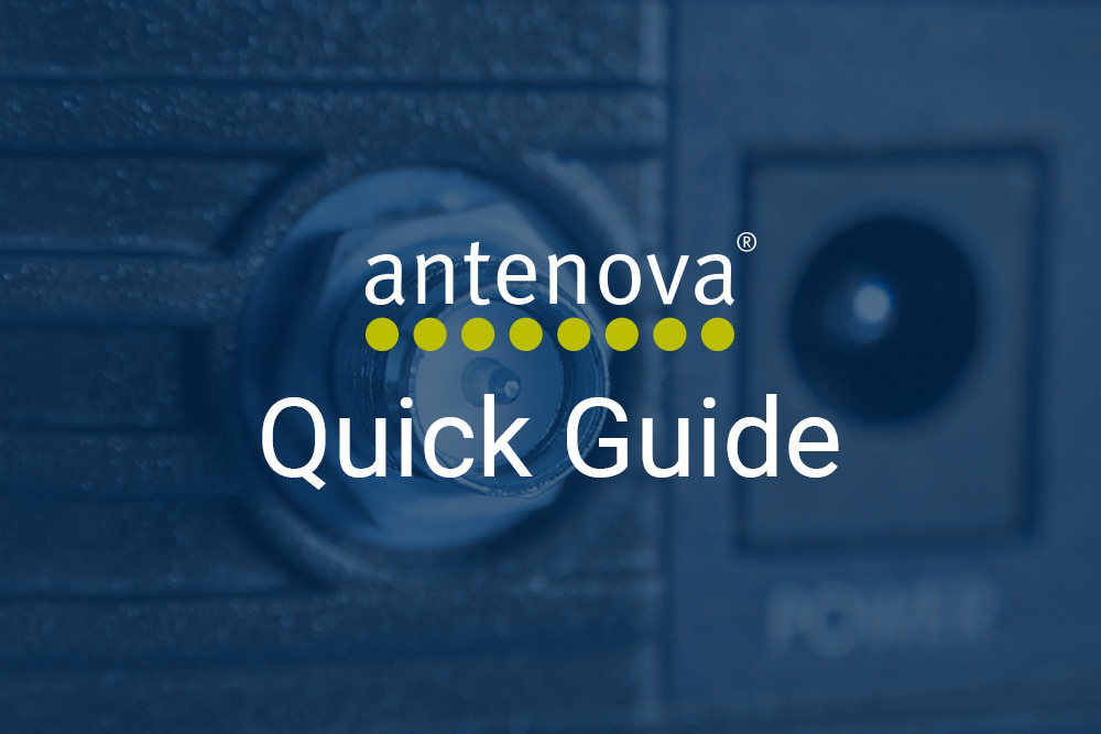 Terminal Antennas: Quick Guide